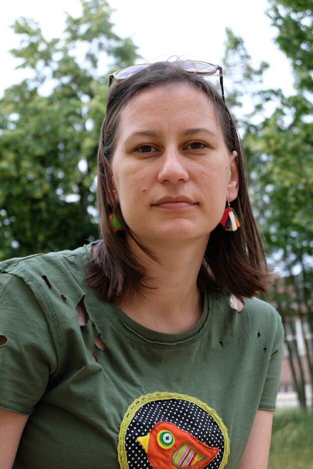 Lenka Dzadíková, dlhoročná dramaturgička Programu pre deti a mladých divákov a diváčky festivalu Dotyky a spojenia.