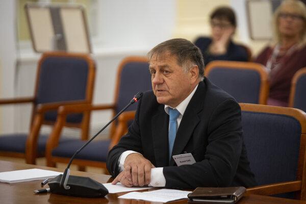 Kandidát na post ústavného sudcu Rudolf Čirč.