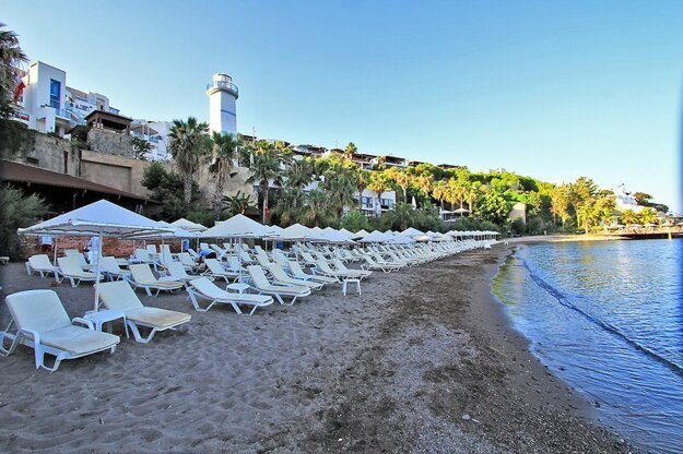 Ortakent Beach