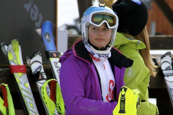 Simona Antalová je v tejto sezóne aj členkou reprezentácie.