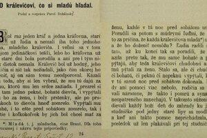 V roku 1896 ste si od Pavla Dobšinského mohli prečítať i takýto príbeh.