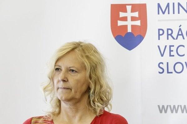 Komisárka pre osoby so zdravotným postihnutím Zuzana Stavrovská.