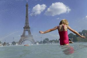Francúzsko sužujú horúčavy.