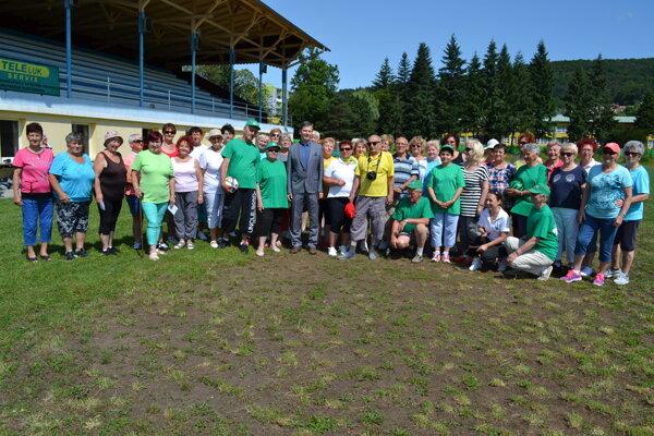 Spoločná fotografia na pamiatku zo 7. Športového dňa onkologických pacientov.