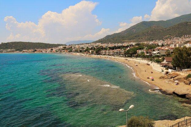 Pláž v Turecku.