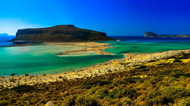 Grécko, ostrovy.