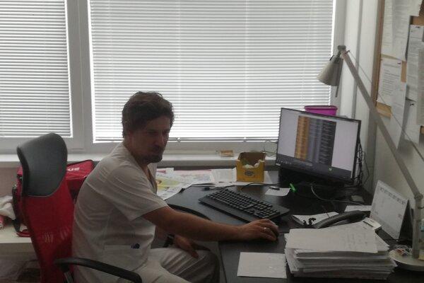 Primár neurologického oddelenia Oto Petrík.