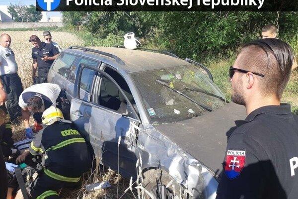 Nehoda sa obišla bez zranení.