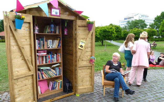 Knižnica funguje už päť rokov.