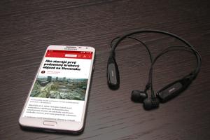 Nová mobilná aplikácia SME.sk pre Android telefóny.