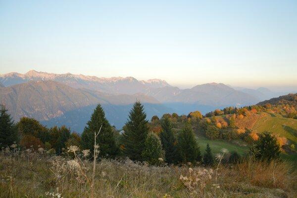 Krajina v severovýchodnom Taliansku - ilustračné foto.