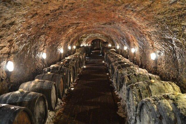 Tokajská tufová vínna pivnica