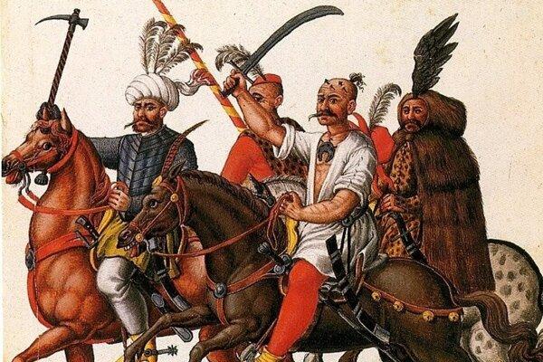 Tureckí vojaci v 16. storočí