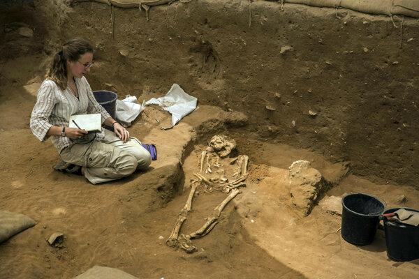 Archeológovia už dlhšie predpokladali, že Filištínci prišli na Blízky východ v časoch tzv. kolapsu neskorej doby bronzovej.