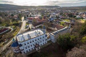 Kaštieľ v Moravanoch nad Váhom.