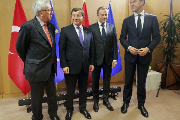 Európski lídri dúfali v dohodu s Tureckom.