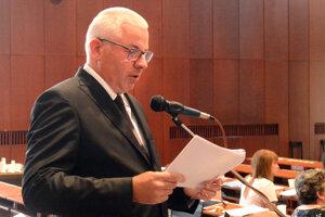 Generálny riaditeľ DPMK Vladimír Padyšák.