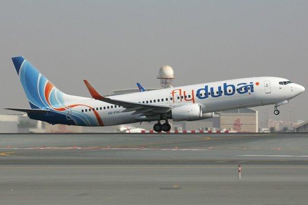 Boeing 737-800 spoločnosti FlyDubai.