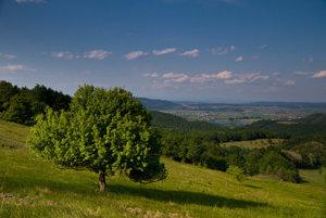 Krajina pod Medvešskou planinou.