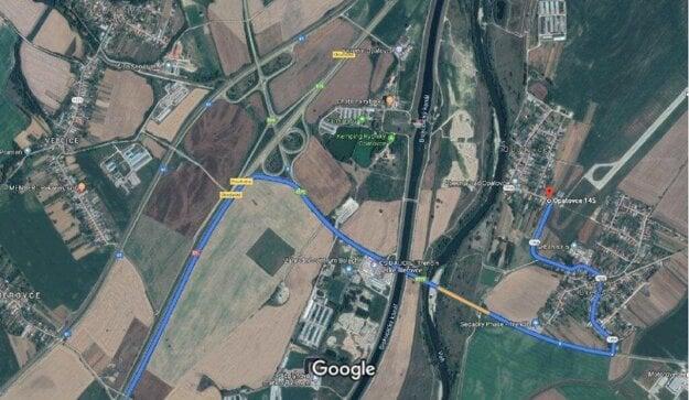 Príjazd na Pohodu od Bratislavy