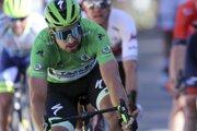 Peter Sagan obhajuje zelený dres na Tour de France 2019.