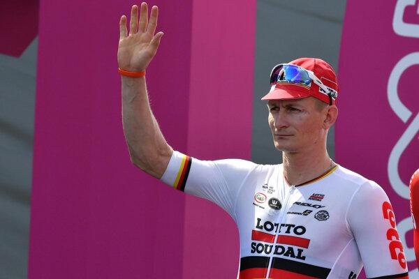 André Greipel ešte v drese tímu Lotto-Soudal.