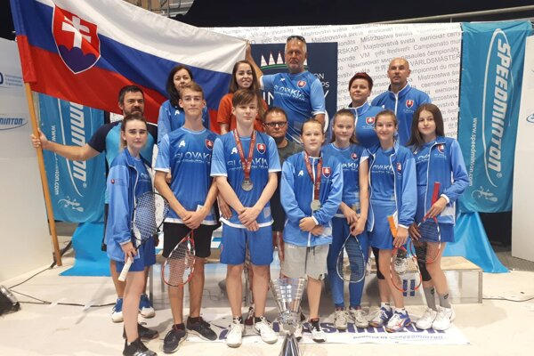 Zástupcovia SbK Lipany na svetovom šampionáte.
