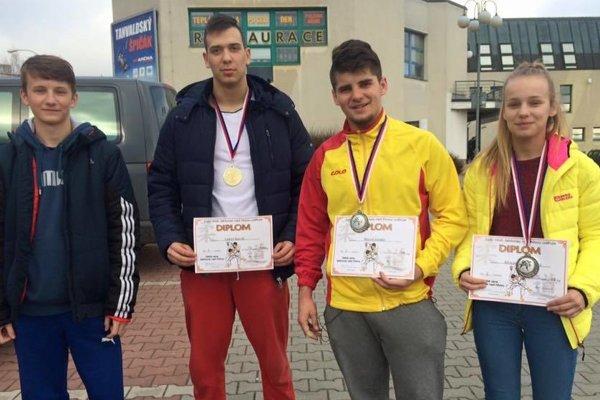 Matej Halaj, Lukáš Kurák, Maroš Gonda, Alexandra Halajová.