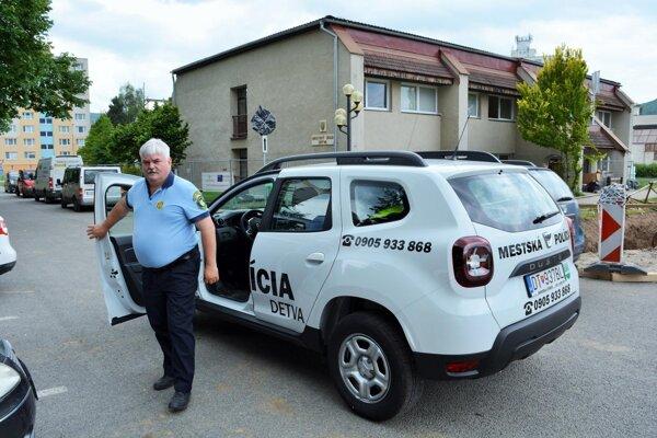 Mestská polícia vám príde na pomoc na novom aute.