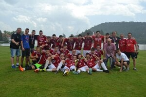 Starší dorastenci FK Tempo Partizánske vyhrali III. ligu.