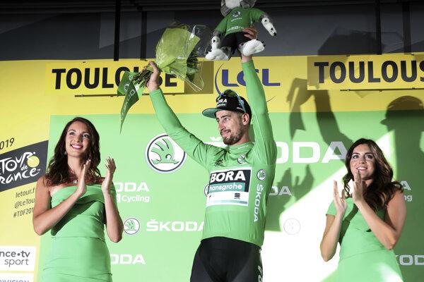 Peter Sagan znova zvíťazil v bodovacej súťaži.