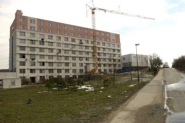 Najväčšia sociálna ubytovňa v správe bratislavského magistrátu Fortuna.