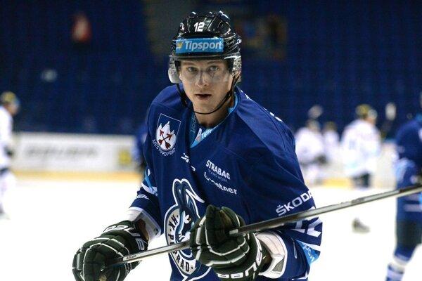 Útočník Dávid Bondra si zahrá v KHL.