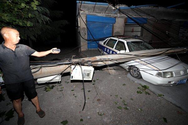 Výbuch nastal v stredočínskej provincii Che-nan.