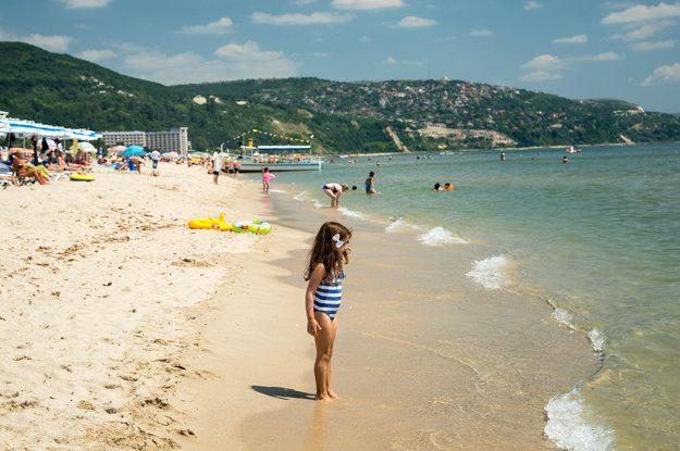 Albena beach, Bulharsko.