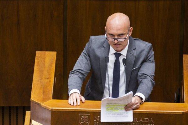 Branislav Gröhling poslanec NR SR za SaS.