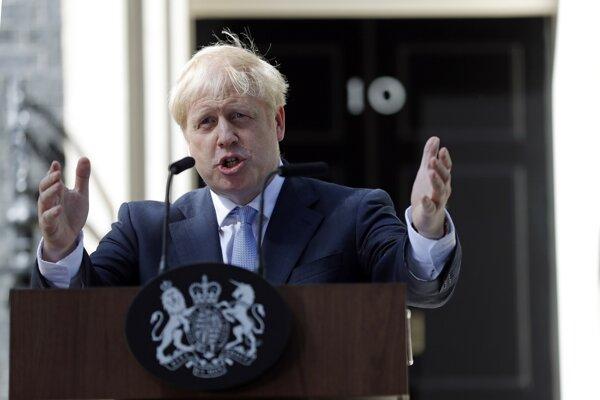 Nový britský premiér Boris Johnson.