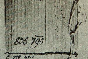 Šindľové doštičky, v ktorých sa prenášali letáky určené sedliakom.