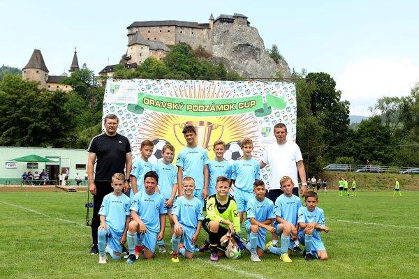 Deviaty ročník ovládli chlapci z Oravského futbalového zväzu.