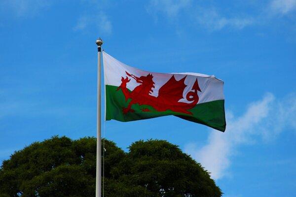 Ilustračné foto - zástava Walesu.