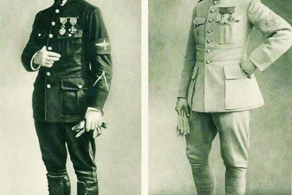Štefánik ako letecký podporučík aporučík počas prvej svetovej vojny.