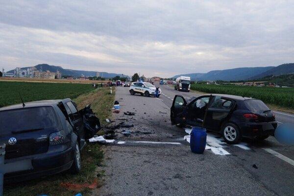 Tragická nehoda pri Turni nad Bodvou si vyžiadala 12. júla štyri ľudské životy.