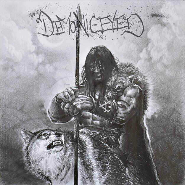Obálka albumu Demonic-eyed.