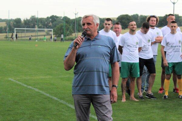 Predseda ObFZ Senica Miroslav Guček