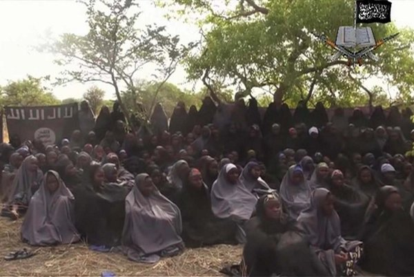 Školáčky unesené teroristami Boko Haram z Chiboku na severovýchode Nigérie.