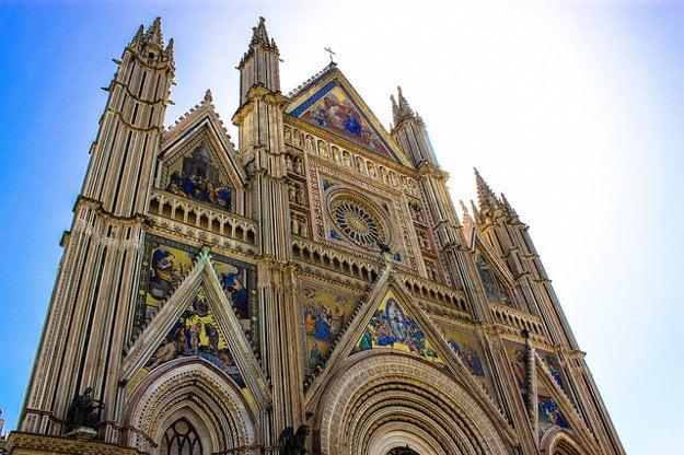 Katedrála v Orviete.