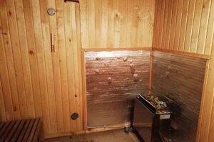 V zázemí nechýba ani sauna.