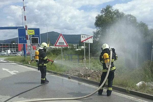 V Rožňave došlo k masívnemu úniku plynu.