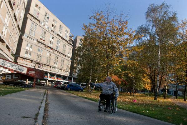 Pentagon v bratislavskej Vrakuni.