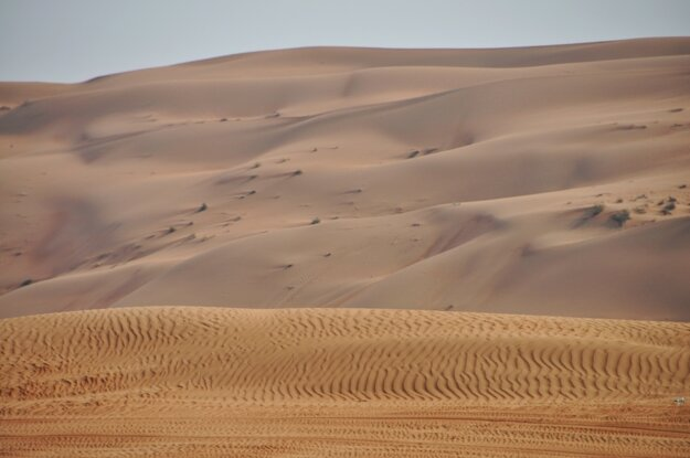 Pieskové duny Wahiba Sands